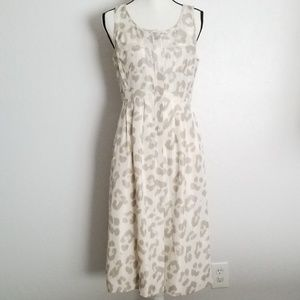 JCrew Silk Leopard Dress